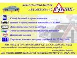 """Логотип Автошкола """"СПУТНИК"""""""