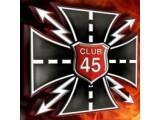 Логотип 45 club, мотомастерская, ИП Троицкий С.В.