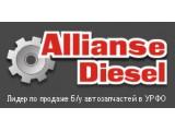 Логотип AllianseDiesel, пункт авторазбора европейских грузовиков